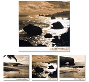 Winkbox Barbados 3 Seascape Notelet Cards