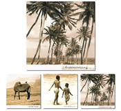 Winkbox Barbados 3 Island Life Notelet Cards