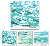 Winkbox Barbados 3 Ripples Notelet Cards