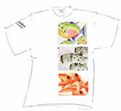 Mens Fidel Grenada Three Fish T Shirt