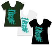 Winkbox Barbados Rasta Womens T-Shirt