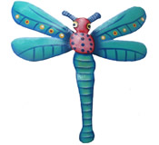 Dragonfly Wall Hanging - 8 Inch Dragonfly 14