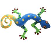 Gecko Wall Hanging 12 Inch - GM48