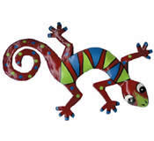 Gecko Wall Hanging 8 Inch - G4