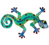 Gecko Wall Hanging 8 Inch - G6