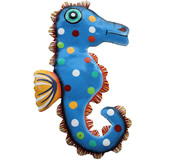 Seahorse Wall Hanging 8 Inch Seahorse 8
