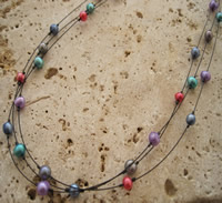 Freshwater Pearl Multistrand Necklace